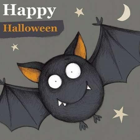 Happy Halloween Bat Poster Print by PS Art Studios](Happy Halloween Makeup Studio)
