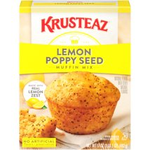 Baking Mixes: Krusteaz Lemon Poppy Seed Muffin Mix