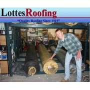 12' x 20' BLACK 45 MIL EPDM RUBBER  ROOF ROOFING BY LOTTES COMPANIES