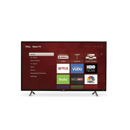 TCL 43u0022 Roku 4K UHD HDR Smart TV (43S425)