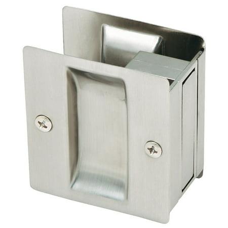 Design House 202812 Rectangular Pocket Door Passage, Satin