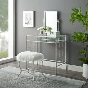 Butler Petra Contemporary Bedroom Vanity Stool