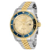 Invicta Pro Diver Men's Two-Tone Stainless Steel Gold Dial Watch - Model 30617