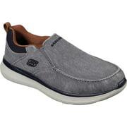 Men's Skechers Delson 2.0 Larwin Slip On Gray 12 M