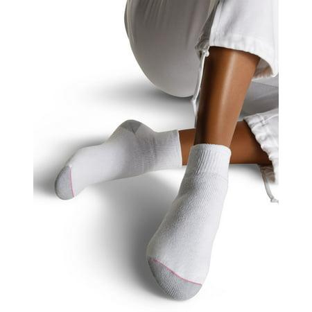 d4ea71d64a6 Hanes - Women s Athletic Ankle Socks