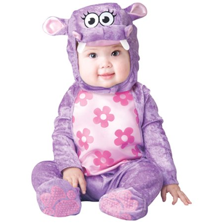 Infant Huggable Hippo Costume by Incharacter Costumes LLC? 16025 - Infant Hippo Halloween Costumes