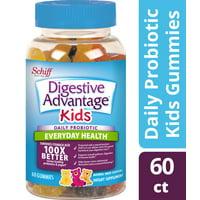 Digestive Advantage Kids Daily Probiotic Gummies, Natural Fruit Flavors - 60 Gummies