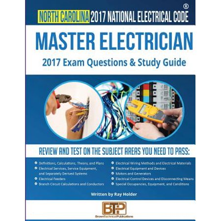 North Carolina 2017 Master Electrician Study Guide (Sm North Halloween 2017)
