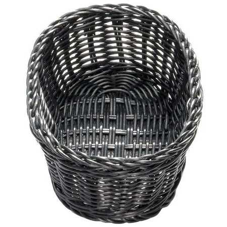 Oval Food Serving Basket, Black ,Tablecraft Products Company, M2474