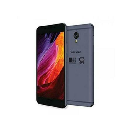 "GlocalMe S1/G1701 GSM Unlocked Smartphone with 20GB Global Data - 5.5"" FHD, Dual-SIM World Phone, 64GB - Blue (Unlocked World Phone)"