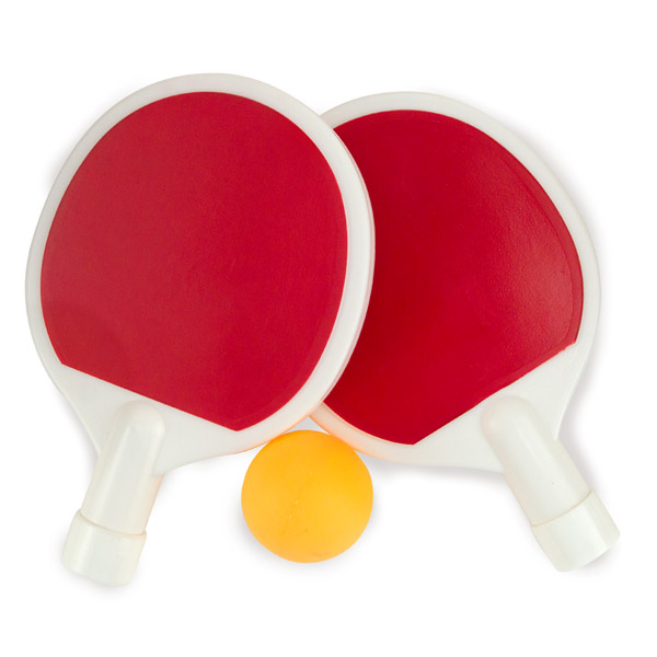 ping pong paddle flask set