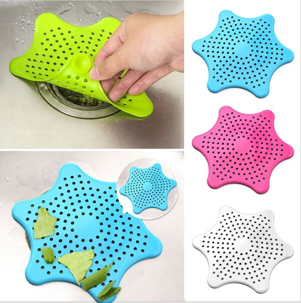 HOT SELL New Bathroom Drain Hair Catcher Bath Stopper Sink Strainer Filter Shower Covers