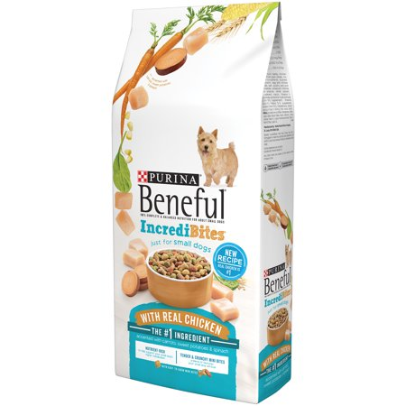 Purina Beneful Incredibites With Chicken Dog Food 15 5 Lb  Bag