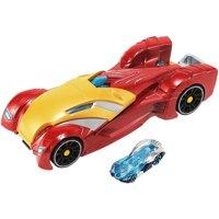 Hot Wheels Marvel Iron Man Repulsor Blast Launcher Vehicle
