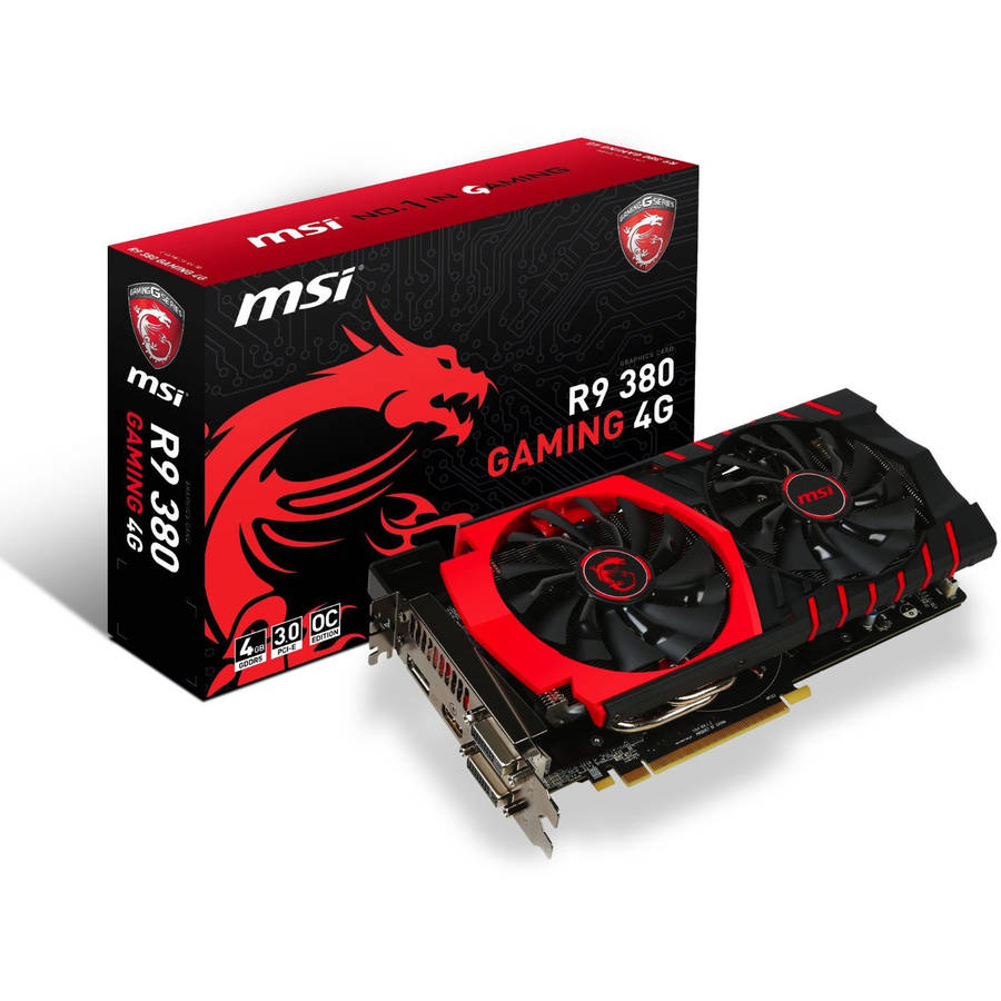 MSI AMD Radeon R9 380 4GB Gaming Video Card