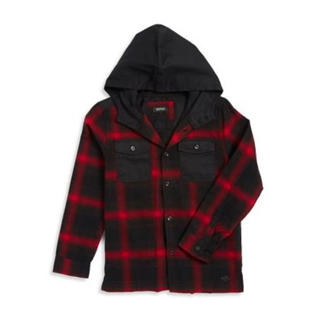 Boy's Plaid Shirt with Attached Hood](Lord And Taylor Boys)