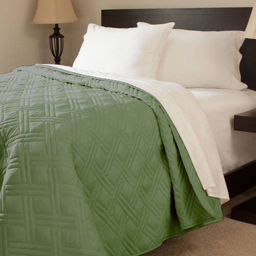Somerset Home Solid Color Bed Quilt - Walmart.com