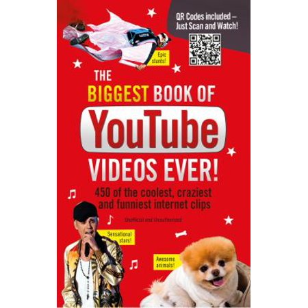 The Biggest Book Of Youtube Videos Ever