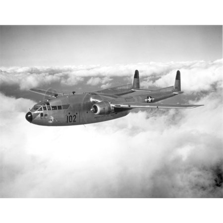 LAMINATED POSTER C-119 Flying Boxcars from the 314th Troop Carrier Group in Japan do not fly to Korea unless weather Poster Print 24 x 36