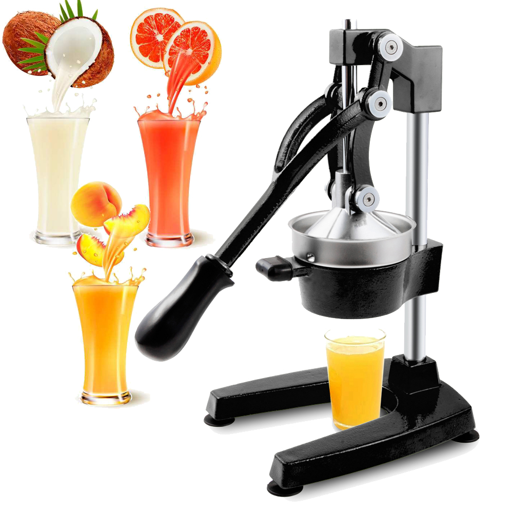 Manual Juicer Hand Press Juicer Fruit Die-Casting Stainless Juice Machine Home