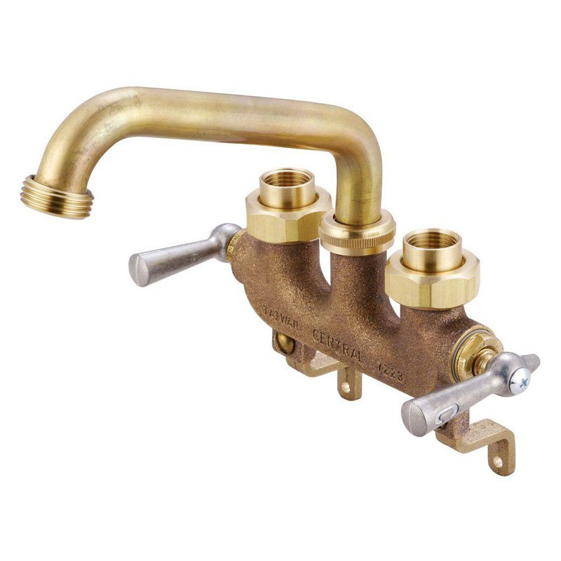 Central Brass 0470 Double Handle Utility Faucet