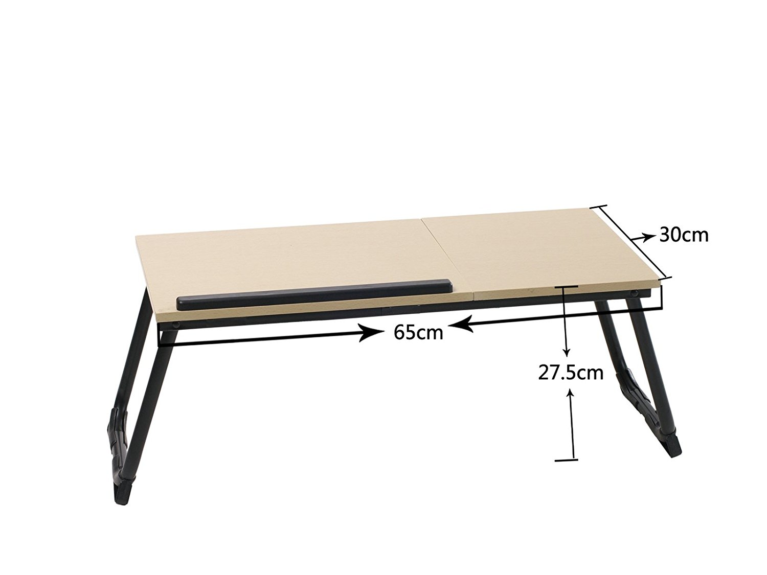 accessories amazon homcom electronics b ca laptop computer lapdesks bamboo for desk bed adjustable netbook