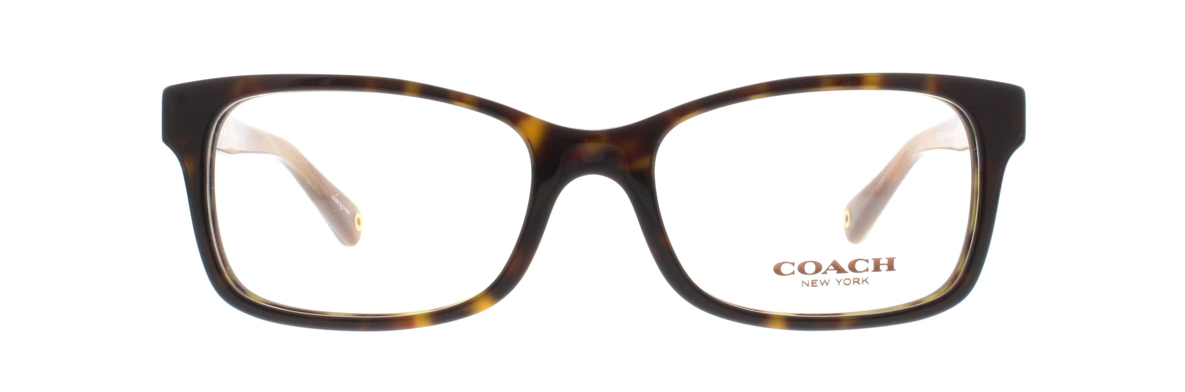 4721765ca5 COACH Eyeglasses HC 6047 5204 Dark Tortoise Brown Horn 49MM - Walmart.com