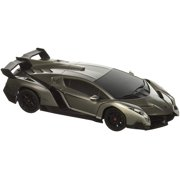 1 24 Scale Lamborghini Veneno Car Radio Remote Control Sport Racing Rc Silver