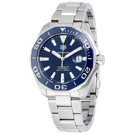 Tag Heuer Aquaracer Automatic Blue Dial Mens Watch WAY201B.BA0927
