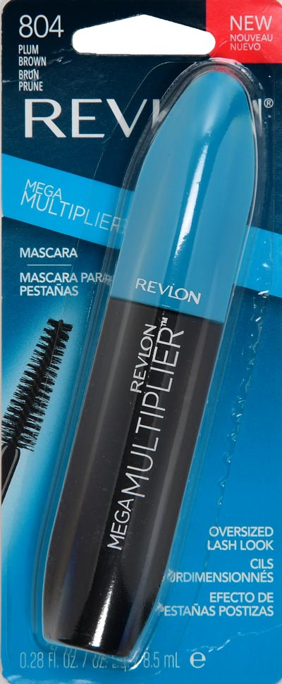 Revlon Mega Multiplier Mascara 804 Plum Brown - 0.28 fl oz