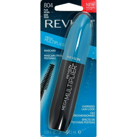Revlon mega multiplier mascara, plum brown