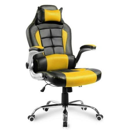 Fabulous Merax High Back Executive Office Chair Pumesh Swivel Chair Racing Gaming Chair Creativecarmelina Interior Chair Design Creativecarmelinacom