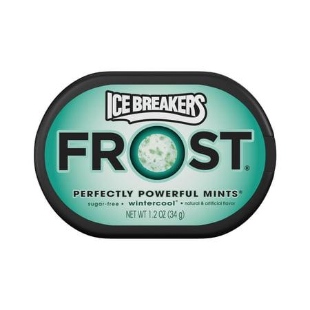 Ice Breakers Frost, Sugar-Free Wintercool Mints, 1.2 Oz