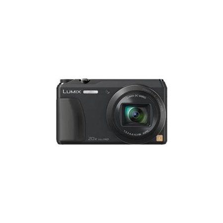 Panasonic DMC-ZS35K 16.1 MP Digital Camera with 3-Inch LCD (Black) with 16GB Memory Card and Case (Refurbished)