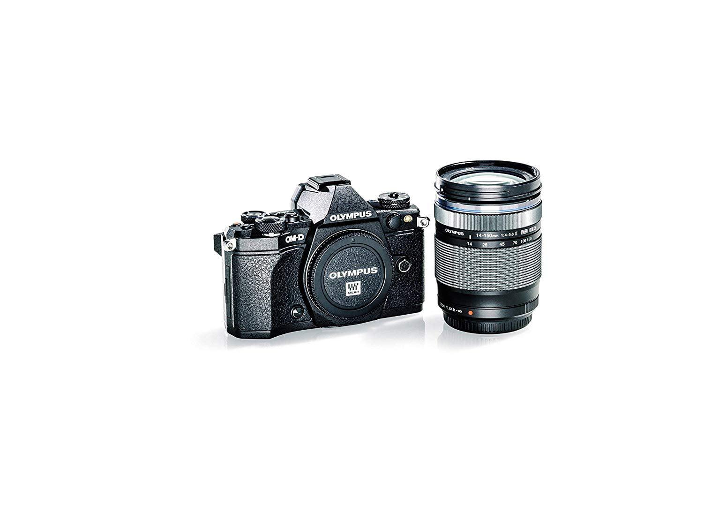"OLYOMDEM5IIBKT Olympus 16 E-M5 Mark II Kit with 14-150mm Lens, 3"" LCD, Black (V207040BU040) by Olympus"