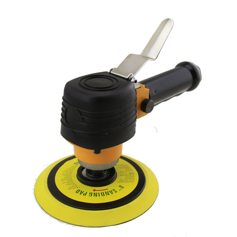 """GHP 1 4"""" NPT Air Inlet 2.8CFM 90PSI 10000RPM 6"""" Pad Pneumatic Dual Action Disc Sander by"""
