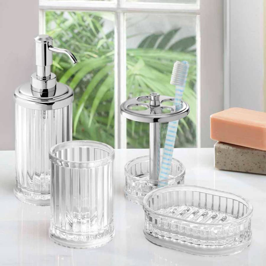 InterDesign Alston Bath Accessories Combo, C4 by INTERDESIGN