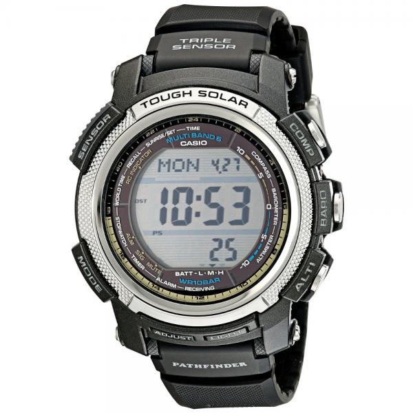 Casio Men's PAW2000-1CR Pathfinder Digital Watch with Black Band
