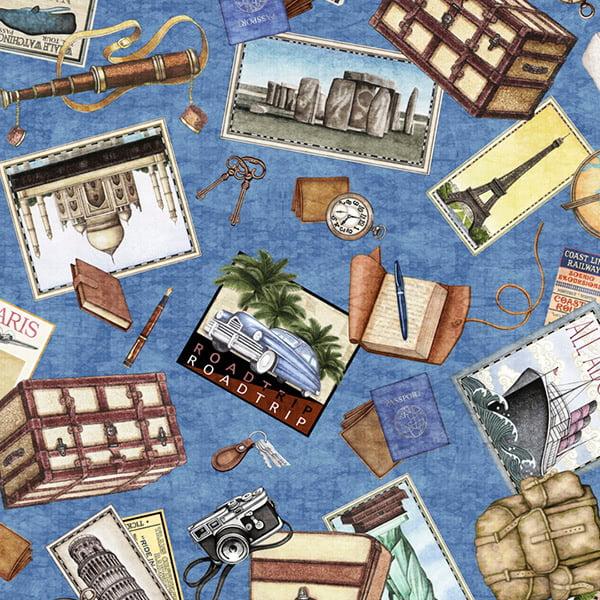 Quilting Treasures Dan Morris Wanderlust Travel Toss