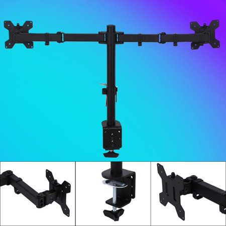 Hilitand Single Arm Monitor Desk Table Mount Stand,无  Single Arm Monitor Desk Table Mount Stand/For 1 LCD Fully Swivel Clamp Up to 27""