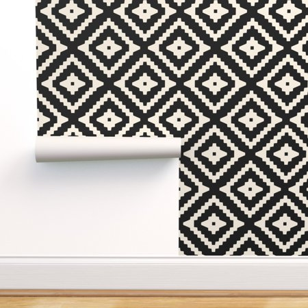 Peel And Stick Removable Wallpaper Boho Aztec Geometric Tribal