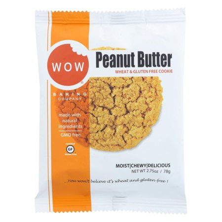 Wow Baking Cookie - Peanut Butter - Pack of 12 - 2.75