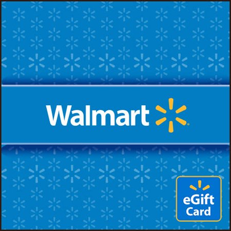 (Basic Blue Walmart eGift Card)