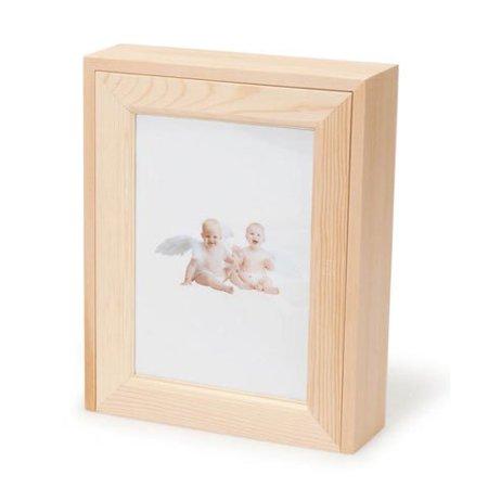 Bulk Buy Diy Crafts Wood Box Picture Frame Lid Unfinished Pine 8 3