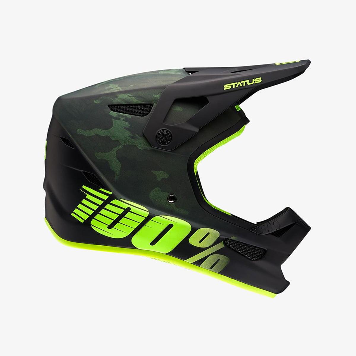 100% Percent 2018 Status Downhill/BMX Cycling Helmet - 80010