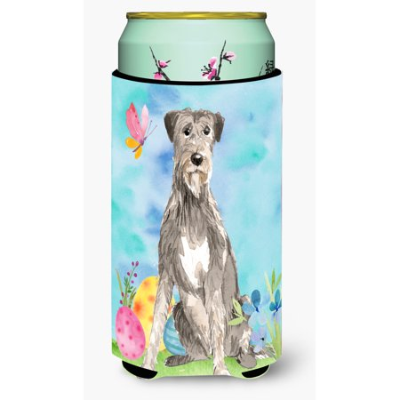 Easter Eggs Irish Wolfhound Tall Boy Beverage Insulator Hugger CK1913TBC