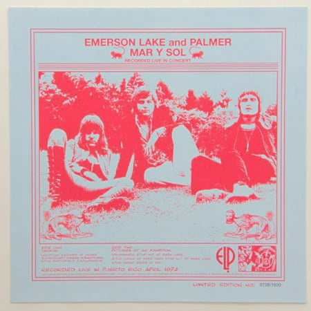 Emerson, Lake & Palmer - Mar Y Sol - Vinyl (Emerson Lake & Palmer In The Hot Seat)