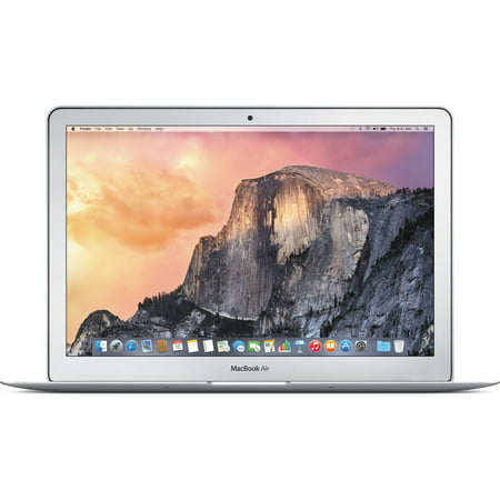 Apple MacBook Air MF068LL/A Intel Core i7-4650U X2 1.7GHz 8GB 128GB SSD, Silver (Certified Refurbished)