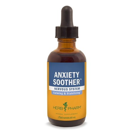 Herb Pharm Anxiety Soother Herbal Formula with Kava For Nervous System Support - 2 (Kava Special Formula)