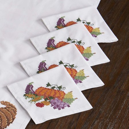 Harvest Bounty Napkins Thread Kit (Kit Harvest)